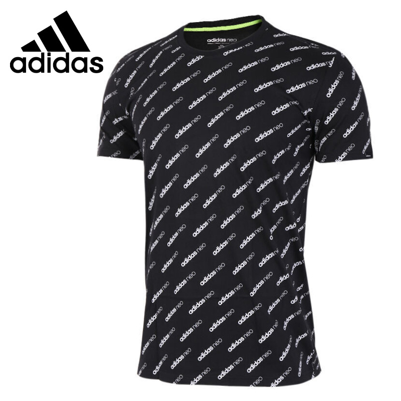 Original New Arrival 2017 Adidas NEO Label M MONOGRAM T Men's T-shirts short sleeve Sportswear original new arrival 2017 adidas neo label graphic men s t shirts short sleeve sportswear