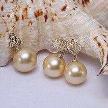JYX Fine Jewelry Set AAA 14K Gold Classi