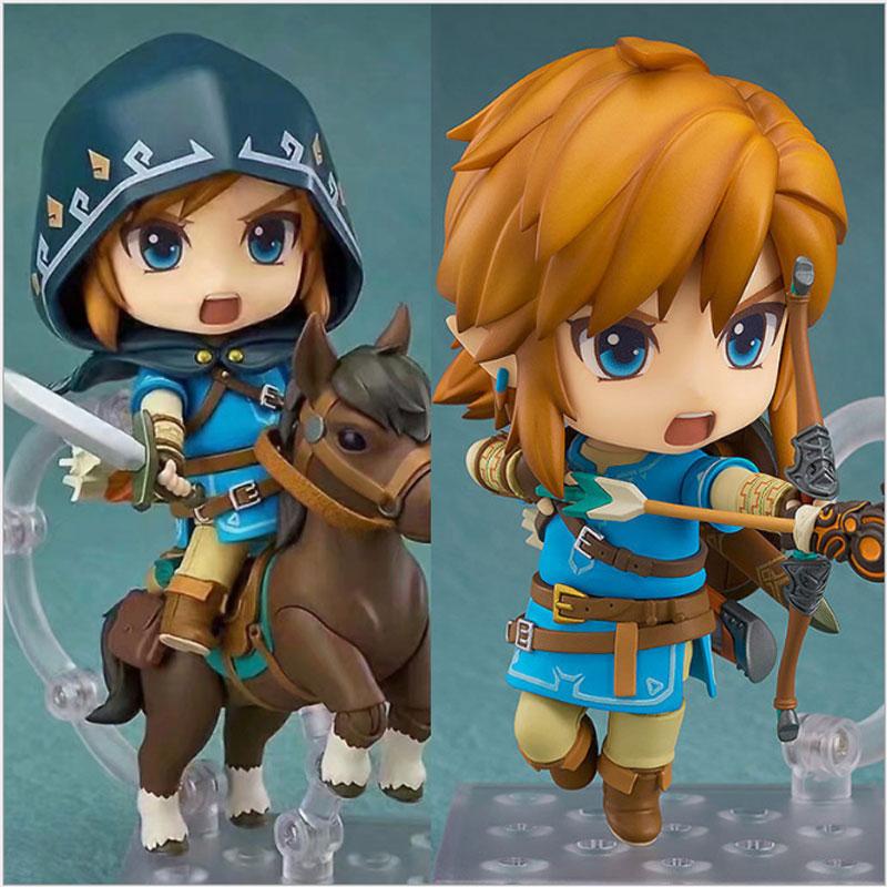Nendoroid Легенда о Zelda кукла 10 см Дыхание Дикого ПВХ фигурку Коллекционная модель игрушки взрослых подарки на день рождения
