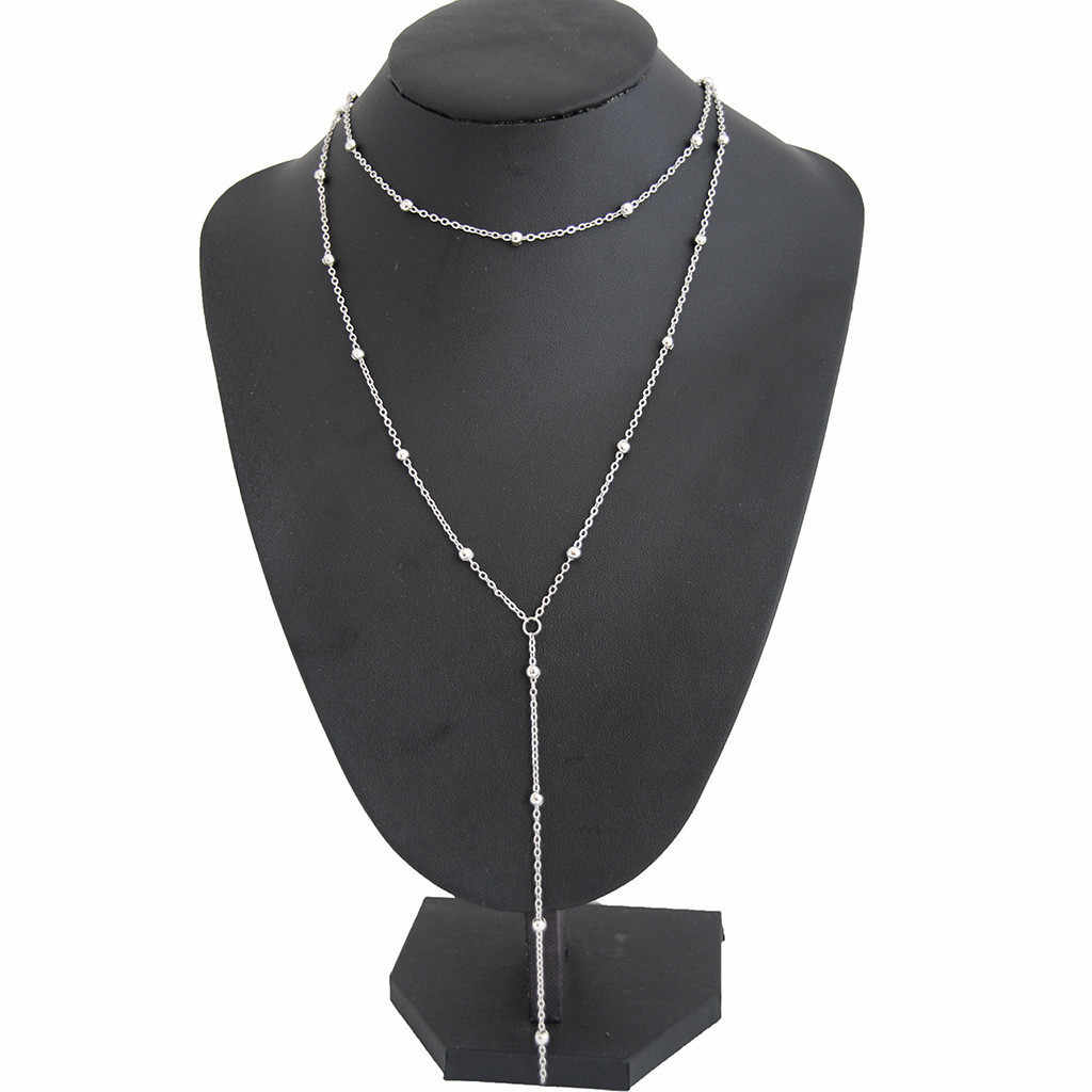 Kiểu dáng thời trang Mặt Dây Chuyền Nữ Boho Nữ Trang Sức Collier Gothic Kolye Tua Rua Dây Chuyền Choker Nữ collares de Moda 2019 L0507