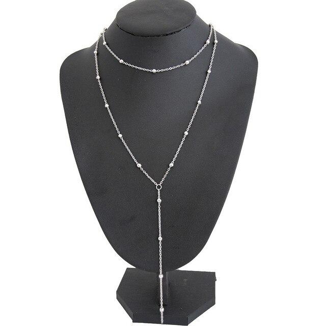 brixini.com - Stylish Boho Gothic Tassel Chain Choker