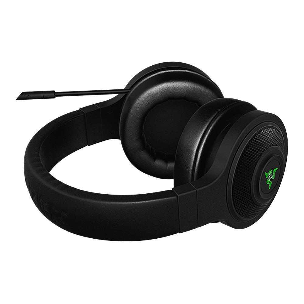 Razer Kraken esencial auriculares con aislamiento de ruido-oído analógico de 3,5mm con micrófono para PC/portátil/teléfono 1,3 m negro auriculares para juegos - 4