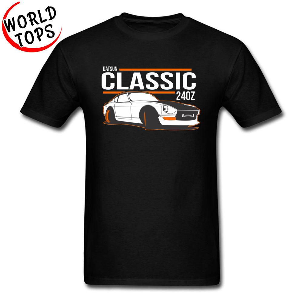 NISSAN Classic <font><b>240Z</b></font> Cars T Shirt Japanese JDM Luxury Car E36 New Tshirts For Men Father's Day Custom High Quality Sweatshirt image