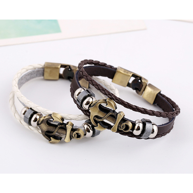 Men Jewellery multi-layered Bracelets