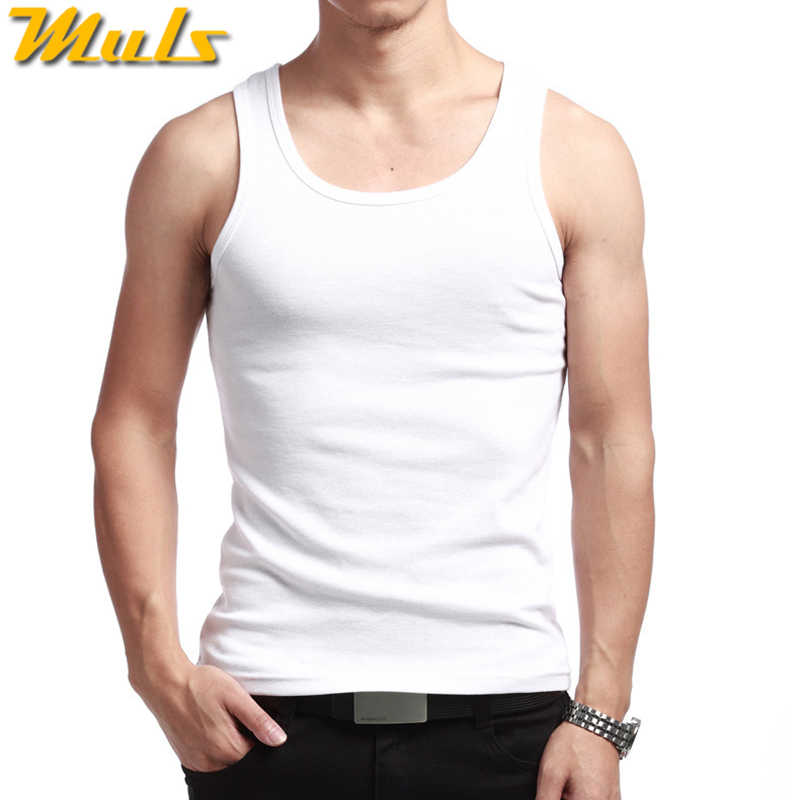 aa01950d0946c ... 3PCS Lot Cotton Tank Tops Men Summer Male Sleeveless Vest Underwear  Breathable Flexible Casual Gilet ...