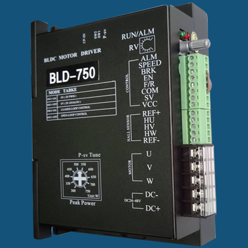 bld-750 driver used for inductive brushless dc motor to match kz-7k-300  underwater thruster of rov auv robot submarine rc boat