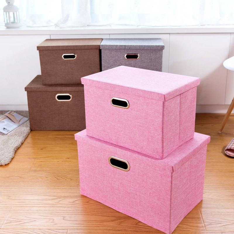 large covered clothing wardrobe storage box toy storage. Black Bedroom Furniture Sets. Home Design Ideas