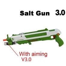 12 Loại Nóng Mùa Hè Tặng Lỗi Một Muối Bay Súng Muối Tiêu Đạn Blaster Pistola Airsoft Súng Diệt Muỗi FlyToy ngoài Trời Muối Súng