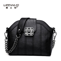 LIRENNIAO 2017PU Leather Handbags For Women Luxury Designer Sac A Main High Quality Shopping Tote Vintage