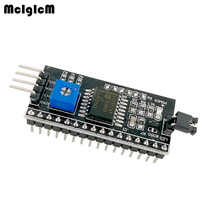 MCIGICM 1602 2004 LCD Adapter Plate IIC,I2C / Interface lcd1602 I2C LCD Adapter Hot sale-in Integrated Circuits from Electronic Components & Supplies