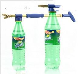 Munstycke av ren koppar fram och återgående singel dubbel glidande munstycke vattning vatten spray bärbar tryck spruta