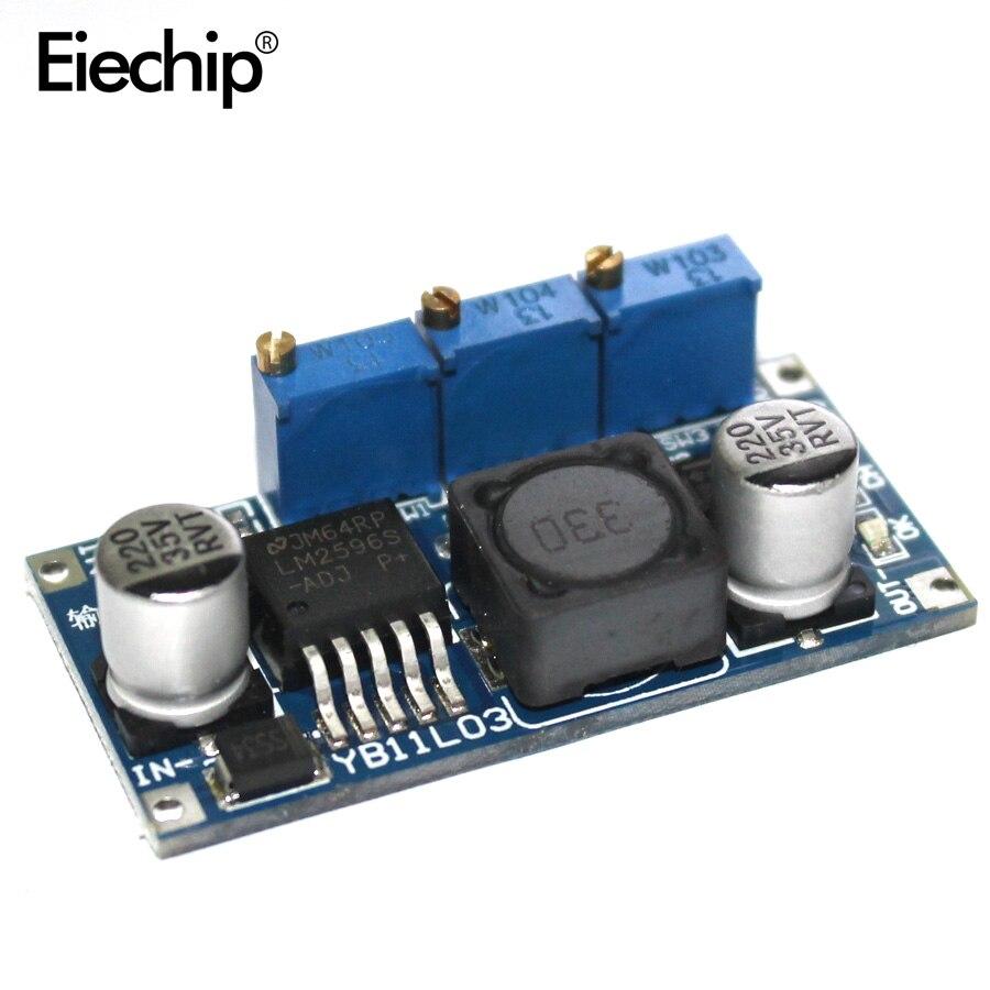 LM2596 светодиодный драйвер постоянного тока понижающий CC CV блок питания DC DC понижающий аккумулятор зарядное устройство Регулируемый LM2596S постоянный ток|Интегральные схемы|   | АлиЭкспресс