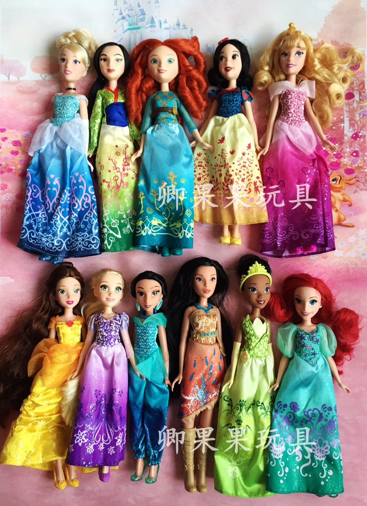 Rapunzel Dolls Princess Doll Snow White Ariel Belle Rapunzel Dolls For Girls Brinquedos Toys For Children Kids Toys стоимость