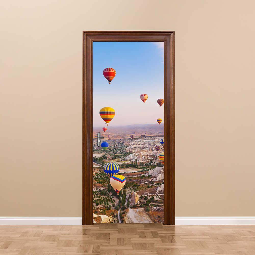 Креативная индейка воздушный шар дверь наклейка на стену домашний декор