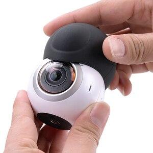 Image 4 - Ốp Bảo Vệ Ống Kính cho Samsung Gear 360 Camera Ống kính Silicone Mềm Mại Bảo Vệ Chống Trầy Xước Camera Ống kính