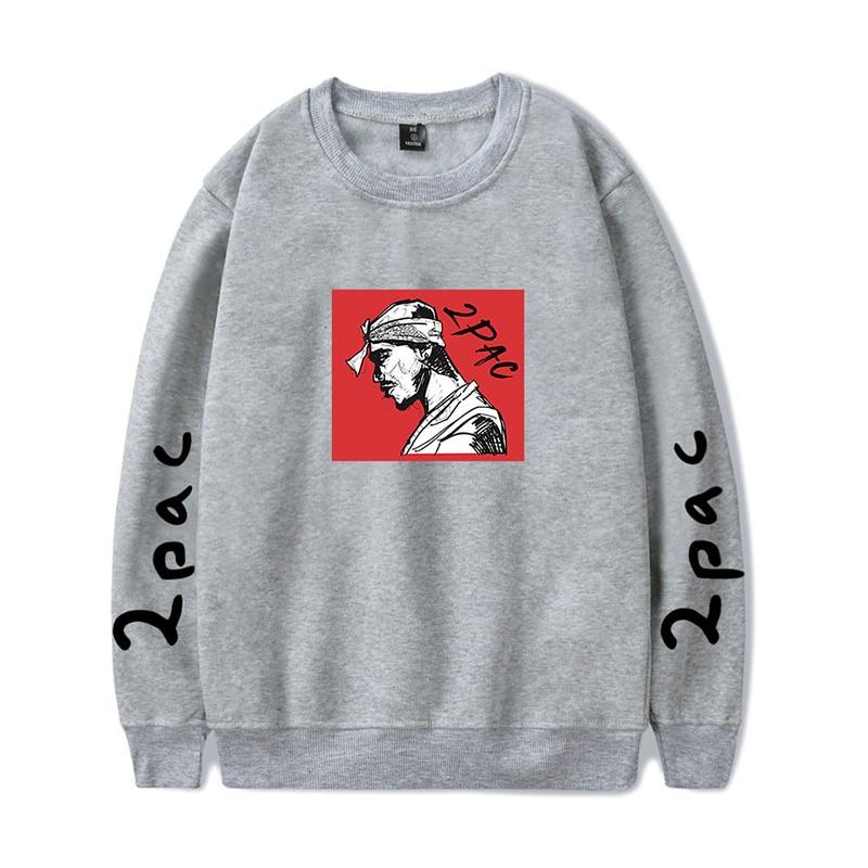 LUCKYFRIDAYF 2pac Fashion Rapper Hip Hop Hoodies Sport Funny Men Women Capless Sweatshirt Casual Long Sleeve Hoodie Pullover Top
