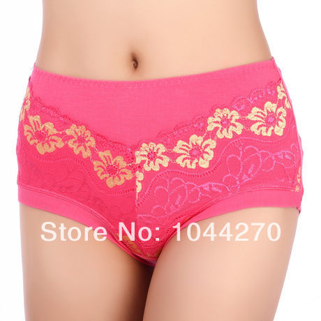7467b6a25 Plus size sexy panties mm women s Indian fiber mid waist four angle panties  body shaping on Aliexpress.com
