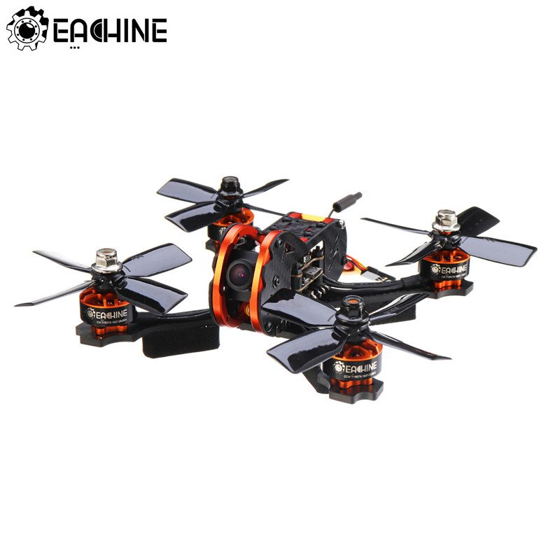 Eachine Tyro79 140mm 3 pouces bricolage Version FPV Racing RC Drone F4 OSD 20A BLHeli_S 40CH 200mW 700TVL