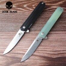 175 мм 100% D2 лезвие мяч Портативные Ножи Складной нож G10 Ручка Открытый Кемпинг нож Охота Туризм Рыбалка EDC ручной инструмент