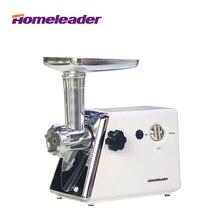 Homeleader Electrodomésticos Picadora de Carne Comercial Máquina, Fabricante de Salchichas y Picadora de Carne/Trituradora Blanco K18-011