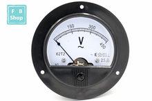 Voltmètre analogique de mesure, 62T2/65C5 100V 150V 200V 250V 300V 450V 500V 750V V V V AC classe 2.5