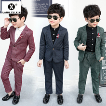 2 Piece Coats and Pants Suit Boys Suits for Wedding Holiday