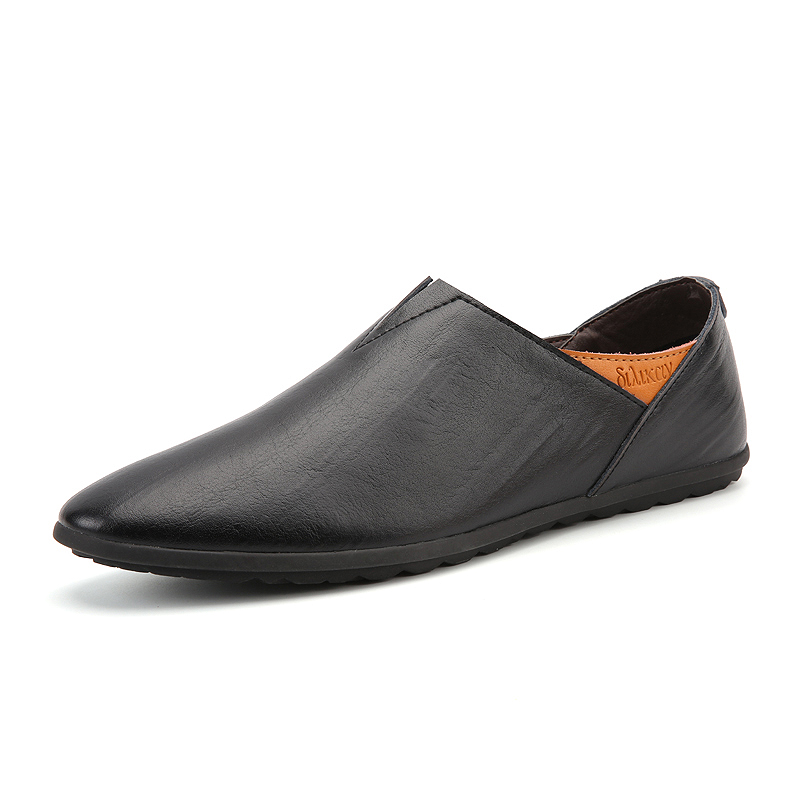 new Men Loafers Handmade Moccasins Men Flats Casual Driving Slip On Shoes Best quality flats Soft leather Chaussure Homme shoes hot high quality men loafers leather round toe slip on casual shoes man flats driving shoes hombre zapatos comfortable moccasins