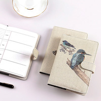 JOUDOO Fashion concise retro agenda Notepad Magnetic buckle notebook School Office Supply
