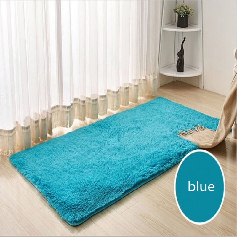 wholesale 140*200cm Water does not rub off silk carpet nap bedroom - Home Textile - Photo 4