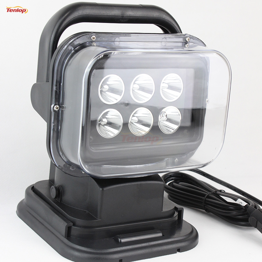 Hot Sale Rotatable 30W LED Searching Light With Magnetic Base For SUV Offroad 4*4 Boat Household Hunting 12/24V
