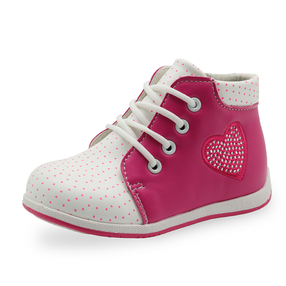 Apakowa Spring Autumn Handmade Fashion Girls Boots PU Leather Martin Girls Boots Kids Boots Children Girls Shoes With Crystal