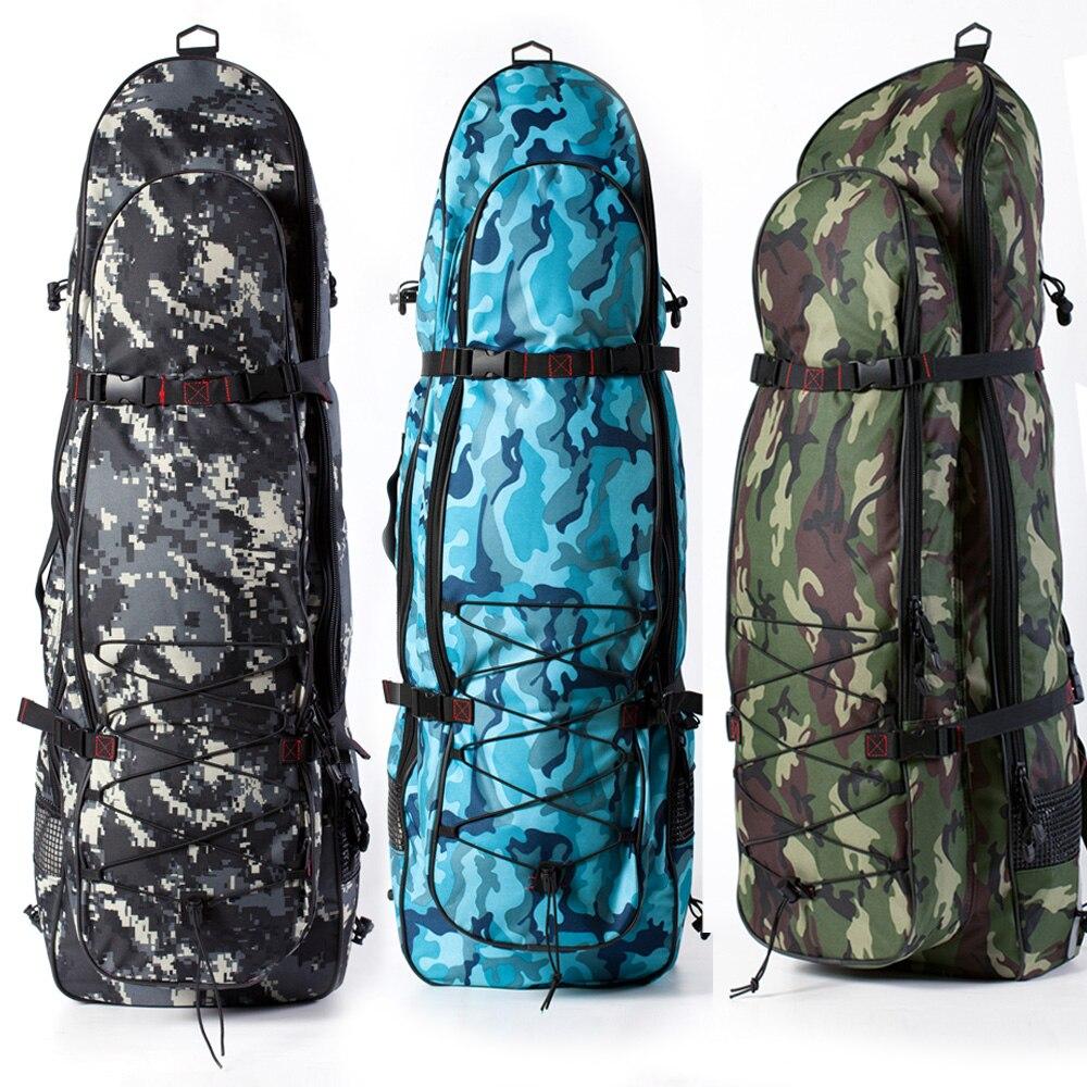 Équipement de plongée libre longues palmes Finswiming mode sac d'équipement de Camouflage de plongée