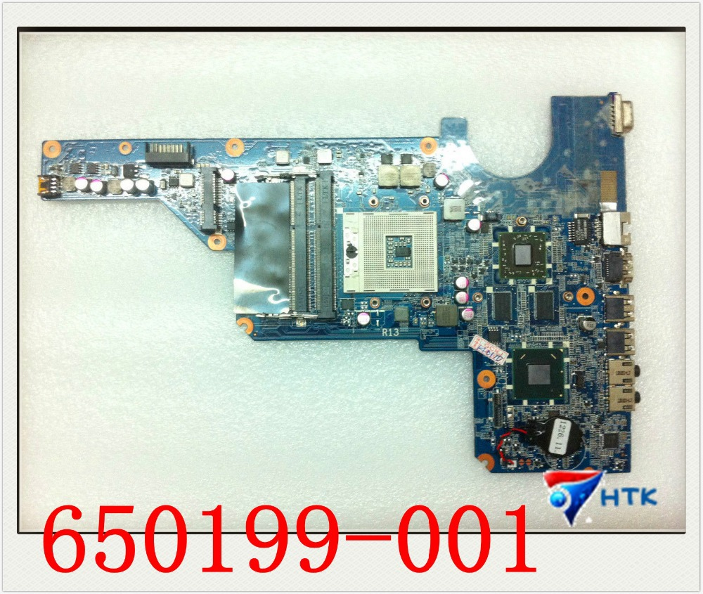 ФОТО Wholesale 650199-001 For HP pavilion G4 G6 G7 HM65 motherboard 100% Work Perfect