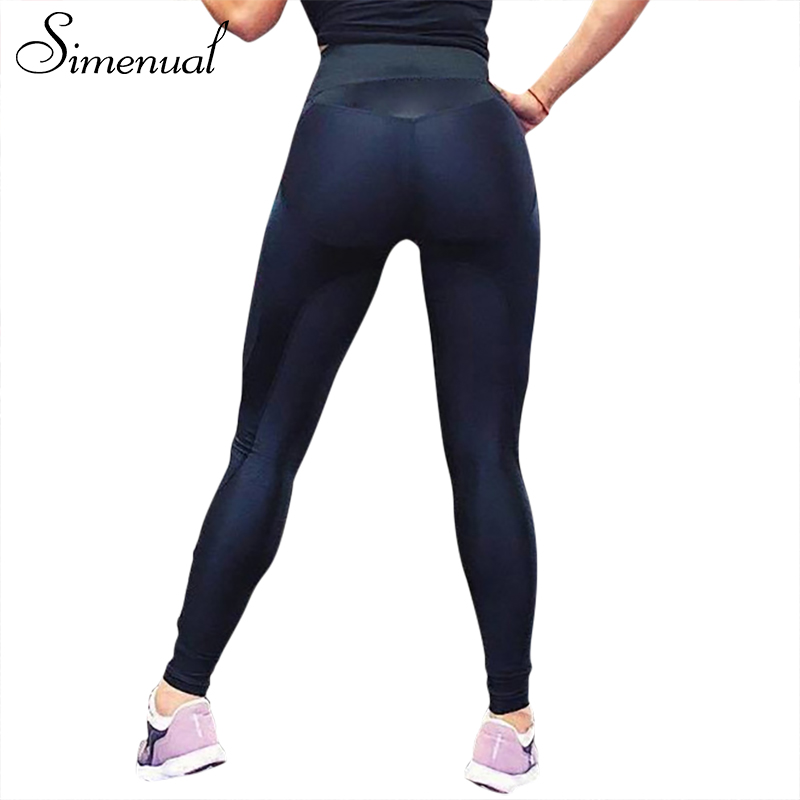 Simenual 2018 Cuore legging sportswear activewear athleisure push up fitness jeggings athleisure ghette sexy per le donne vendita