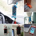 Hot Sale All purpose Phone holder humanoid silicone car holder universal Bondi BNDW Flexible Car Phone Holder