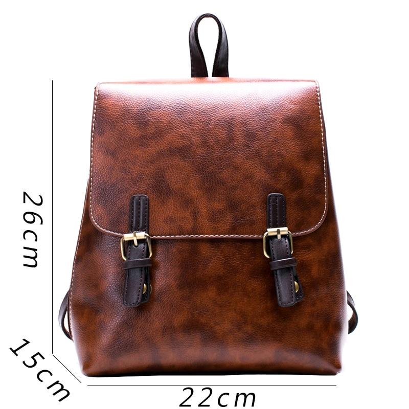 CETIRI Pu leather backpack women fashion luxury brand Vintage ...