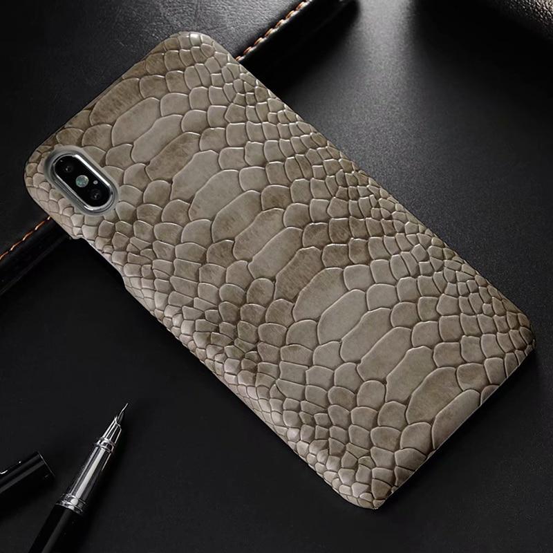 snake pu leather case (16)