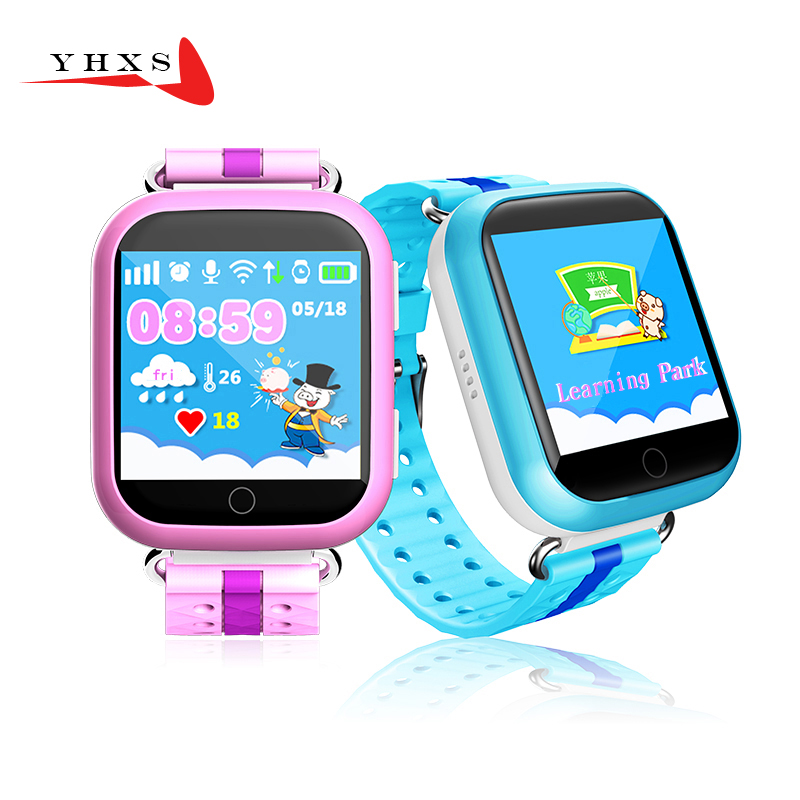 ФОТО 1.54' Touch Screen Smart Location Finder Device GPS WIFI Tracker Watch GW200 for Baby Kid Elder Anti Lost Monitor PK T58 Q50 Q90