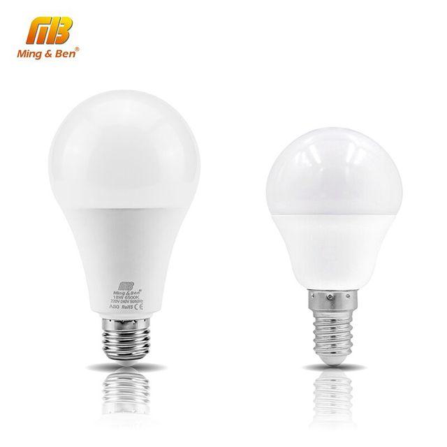 230V 9W Lampada E14 5W IC lamp 7W 3W LED 12W 240V 15W Spotlight Smart bulb 18W LED light E27 Lamps LED Table Bombilla LED AC220V Jl1FKc