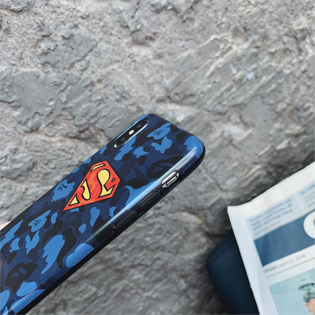 DC Comic Superman Funda For Iphone 7 Case Marvel Batman IMD Phone Case For Iphone X XR XS Max 6 6S 7 8 Plus 10 Cover For Capa