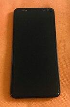 Б/у Оригинальный ЖК дисплей + дигитайзер, сенсорный экран + рамка для Vernee X X1 Helio P23 MTK6763, Восьмиядерный, бесплатная доставка