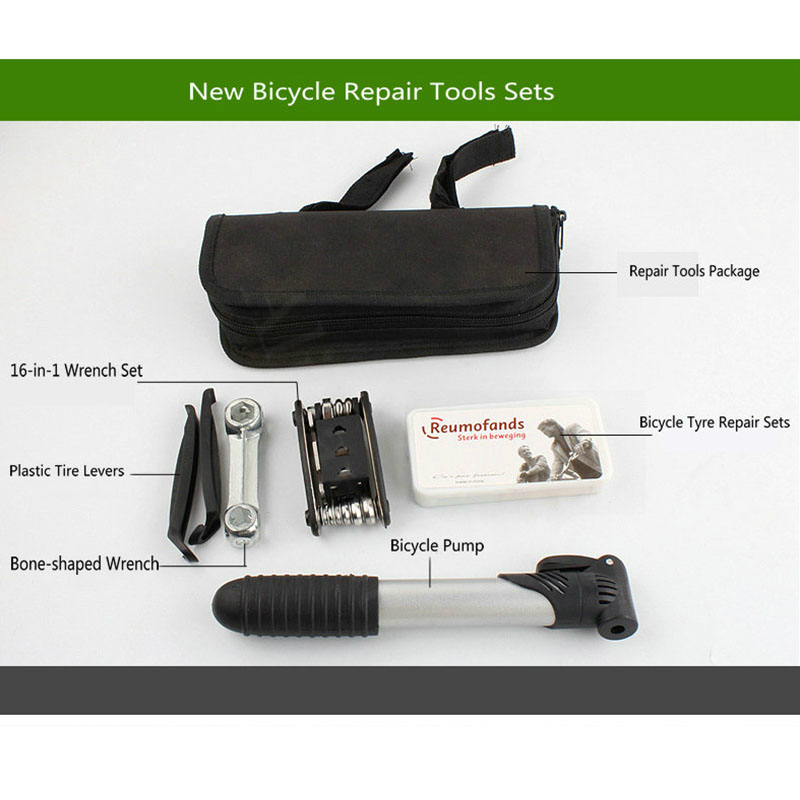 Electric Scooter Bicycle Repair Tools Kits For Xiaomi Mijia M365 Qicycle EF1 Ninebot Mini Pump Screwdriver Tool Wrench with Bag