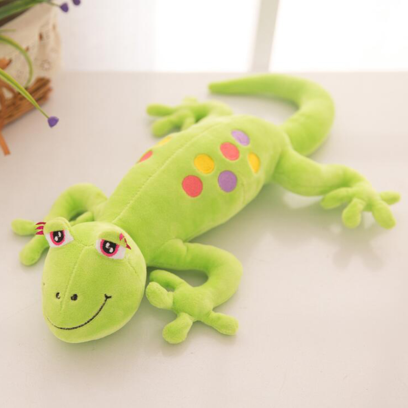 80cm New Creative Cute Gecko Simulation Doll plush Toys Small Gecko Pillow Stuffed animals lizard Filled Cloth Dolls Child toys small home appliance mixer simulation play toys