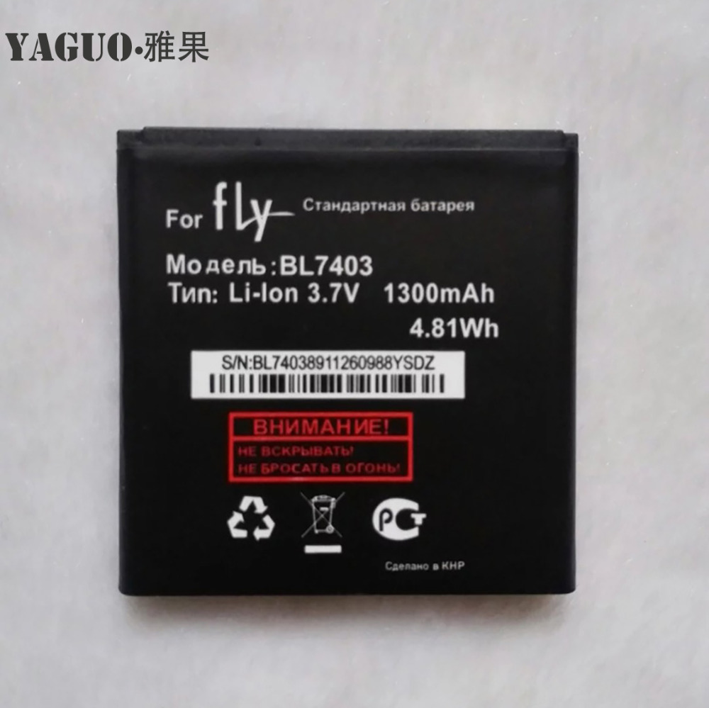 High Quality For <font><b>FLY</b></font> IQ431 IQ 431 <font><b>BL7403</b></font> BL 7403 New Mobile Phone Lithium Original 1300mAh Battery Replacement Parts image