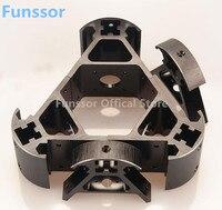 Funssor 2020 aluminum alloy delta angle corner kit Kossel corner kit For DIY all metal 3D Kossel printer