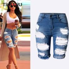 2018 europa Mode Trend Loch Gespleißt Jeans für Frauen Hohe Qualität  Aushöhlen Hosen Weibliche Streetwear Hosen Elastizität . d0cb04e47d