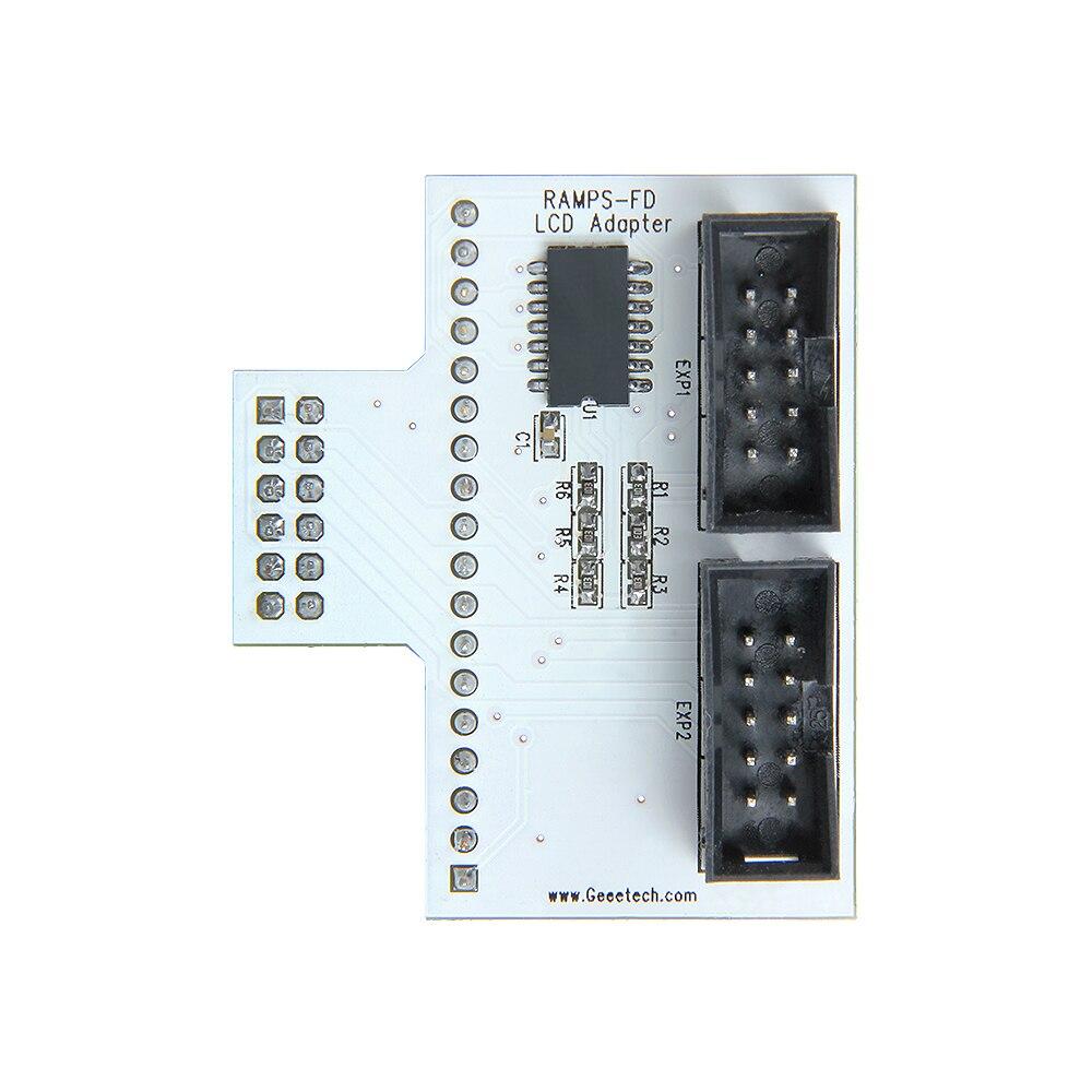 Geeetech Nueva Impresora 3D Adaptador Inteligente para RAMPAS-FD LCD2004/12864 P