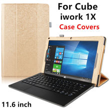 Case For Cube iwork 1X Protective Smart cover Faux Leather Tablet PC For iwork 1X Case Protector Sleeve 11.6″ inch Cases Covers