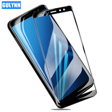 3D Protective Full Cover Tempered Glass For Samsung Galaxy A3 A5 A7 A6 A8 Plus 2017 2018 Screen Protector Film For J2 J4 Core protective glass red line for samsung galaxy a5 2017 full screen 3d gold