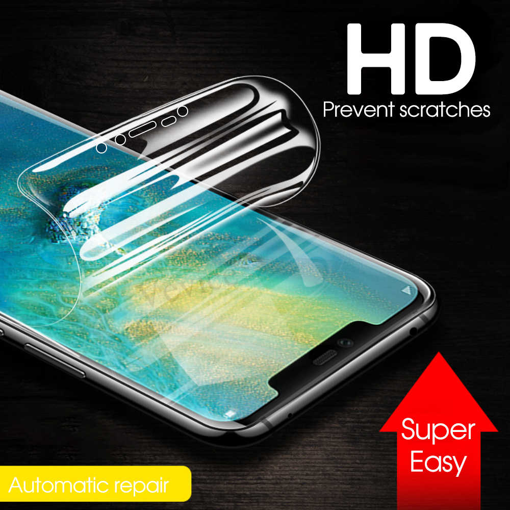 Soft Hydrogel Film For Huawei Mate 20 Lite Mate 20 Pro Prevent Scratches Screen Protector For Huawei Honor 10 mate20 Not Glass